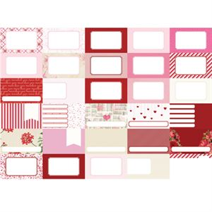 Picture of Pocket Love Journal Cards by Katie Pertiet - Set 30